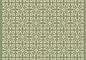 Green-ornament-vector-pattern