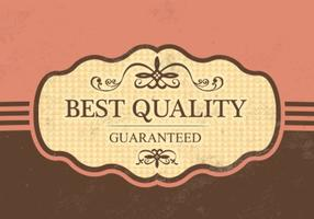Vintage Best Quality Vector Background