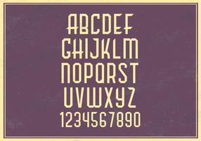 Retro-alphabet-vector-set
