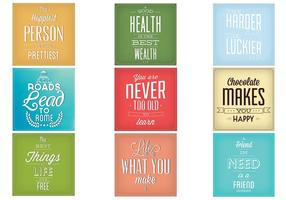 Vintage-typography-vector-background-set