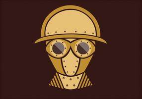 Steampunk Vector Retrato Tres