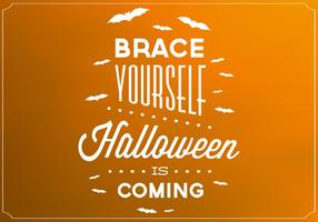 Halloween Poster Vector Background