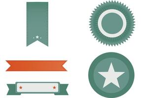 Free Retro Banner Pack vector