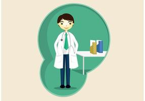 Vecteur de médecin