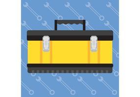 Vecteur boîte à outils