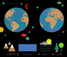 Life on Earth Vector Pack