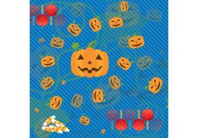 Fondo del vector de Halloween