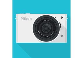 Digital Photo Camera Vector