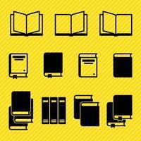 Vetores do livro de ícones