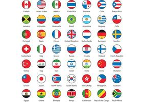 International Flag Vectors