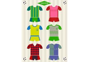 Uniformes vectoriels de football