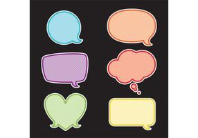 Speech Bubble Vectors