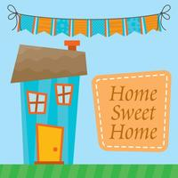 Home Sweet Home Vector
