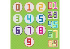 Cuadrado Número Vectores