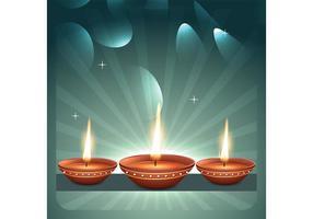 Diwali Gratis Vector Grafiek