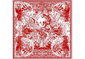 Wicked-cherub-bandana-vector