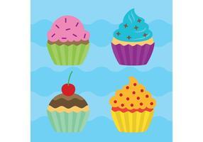 Cupcake Vectores
