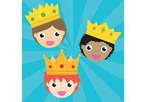 Three King Vectors