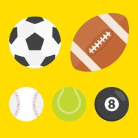 Esferas de esporte do vetor