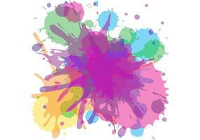 Inkt splash vetor