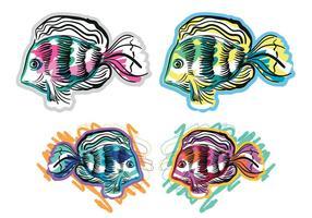 Free Tropical Fish Vectors