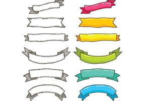 Free Bright Ribbon Vectors