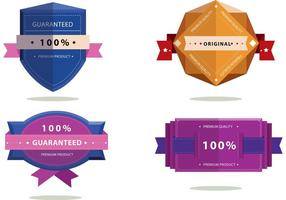 Badge Ribbon Vector