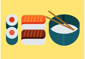 Japanese Food Vector Pack