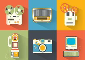 Bright-vintage-electronics-vector-pack