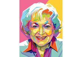Free Betty White Vector
