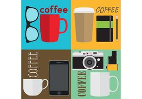 Hipster Coffee Vectors