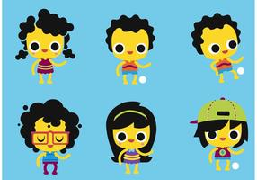 Kids-vector-pack