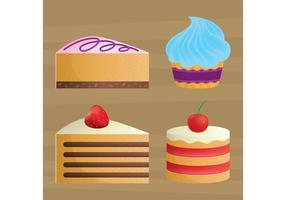 Vectores de la torta