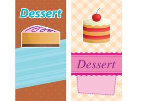 Cakes Card Vectors 01