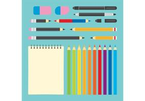 Art Supplies Vectores