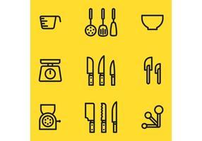 Articles vectoriels de cuisine