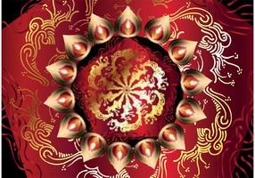 Free-happy-diwali-vector-background