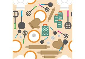 Kitchen Vector Background