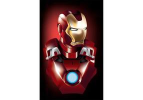 Iron Man Vector Superheld