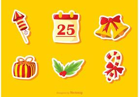 Kerstmis Jingle Bells vector pack