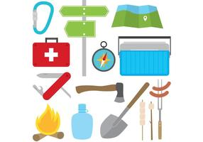 Camping Vector Items