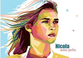 Ritratto di Nicola Anne Peltz Vector