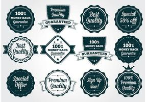 Premium Kvalitet Vector Badges