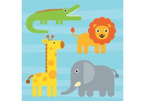 Cute Animal Vectors