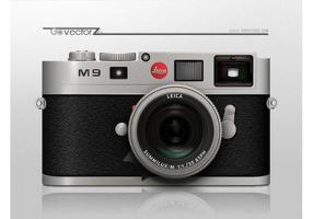 Vecteur caméra leica m9