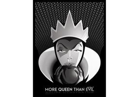 Más Queen Than Evil - Queen Vector