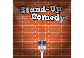 Stand Up Vector Background
