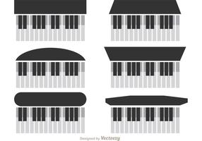Klavier Vektoren