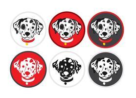 Dalmatische Puppy Vectors