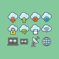 Cloud Computing Vectors